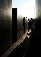 24 AUG 2009 - BERLIN, GER - The Holocaust Memorial in Berlin (PHOTO (C) NIGEL FARROW)