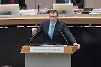 4. Plenarsitzung der 18. Wahlperiode des Berliner Abgeordnetenhaus am Donnerstag den 12. Januar 2017.<br /> Im Bild: Florian Graf, Fraktionsvorsitzender der CDU.<br /> 12.1.2017, Berlin<br /> Copyright: Christian-Ditsch.de<br /> [Inhaltsveraendernde Manipulation des Fotos nur nach ausdruecklicher Genehmigung des Fotografen. Vereinbarungen ueber Abtretung von Persoenlichkeitsrechten/Model Release der abgebildeten Person/Personen liegen nicht vor. NO MODEL RELEASE! Nur fuer Redaktionelle Zwecke. Don't publish without copyright Christian-Ditsch.de, Veroeffentlichung nur mit Fotografennennung, sowie gegen Honorar, MwSt. und Beleg. Konto: I N G - D i B a, IBAN DE58500105175400192269, BIC INGDDEFFXXX, Kontakt: post@christian-ditsch.de<br /> Bei der Bearbeitung der Dateiinformationen darf die Urheberkennzeichnung in den EXIF- und  IPTC-Daten nicht entfernt werden, diese sind in digitalen Medien nach §95c UrhG rechtlich geschuetzt. Der Urhebervermerk wird gemaess §13 UrhG verlangt.]