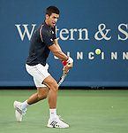 Novak Djokovic (SRB) Advances After Nikolay Davydenko (RUS) Retires 6-0, ret.