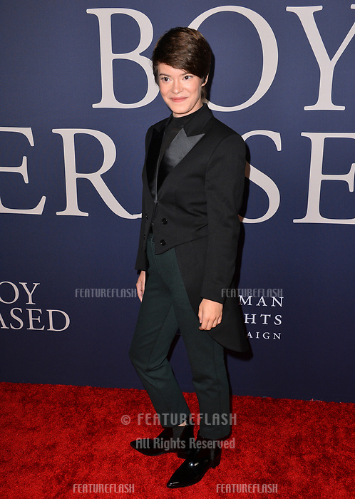 LOS ANGELES, CA. October 29, 2018: Emily Hinkler at the Los Angeles premiere for &quot;Boy Erased&quot; at the Directors Guild of America.<br /> Picture: Paul Smith/Featureflash