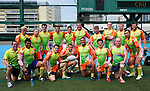 A-Trade Overseas Old Boys during Day 2 of the GFI HKFC Tens 2012 at the Hong Kong Football Club on March 22, 2012. Photo by Mike Pickles / The Power of Sport Images for HKFC