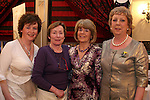 Therese Jones, Barbara McCabe, Mary Convery and Stephanie Turner at the Daffodil Day Fashion Show in the Westcourt Hotel...Photo NEWSFILE/Jenny Matthews.(Photo credit should read Jenny Matthews/NEWSFILE)....This Picture has been sent you under the condtions enclosed by:.Newsfile Ltd..The Studio,.Millmount Abbey,.Drogheda,.Co Meath..Ireland..Tel: +353(0)41-9871240.Fax: +353(0)41-9871260.GSM: +353(0)86-2500958.email: pictures@newsfile.ie.www.newsfile.ie.FTP: 193.120.102.198.