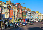 Colourful buildings and shops, Cobh, County Cork, Ireland, Irish Republic