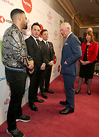 11/03/2020 - Craig David, Anthony Ant McPartlin and Declan Dec Donnelly and Prince Charles at The Princes Trust Awards 2020 At The London Palladium. Photo Credit: ALPR/AdMedia