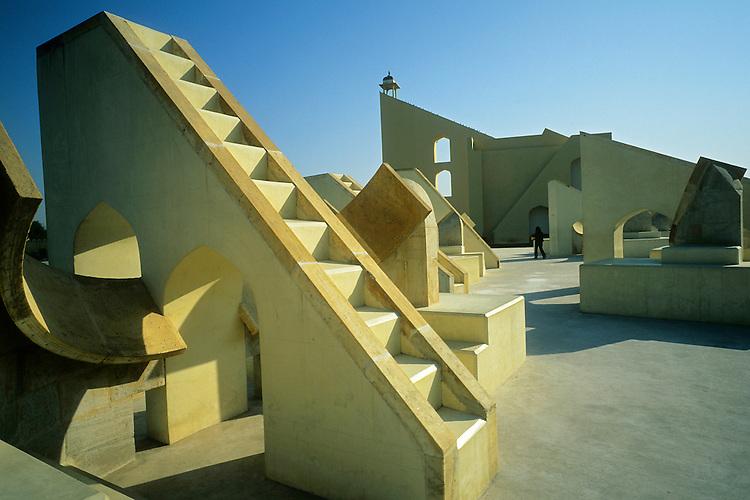Jantar Mantar astronomical observatory, Rajasthan, India, 2011