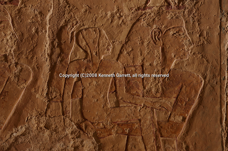 Hatshepsut Egypt; Deir el Bahri; Mortuaty temple; New Kingdom; 18th dynasty, Divine Birth