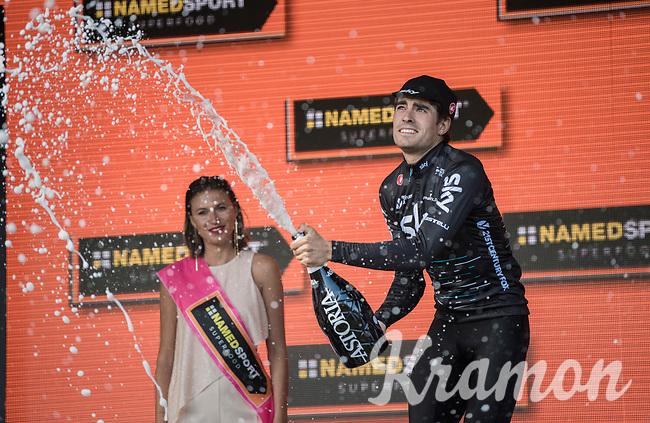 Mikel Landa (ESP/SKY) wins stage 19: San Candido/Innichen &rsaquo; Piancavallo (191km)<br /> <br /> 100th Giro d'Italia 2017