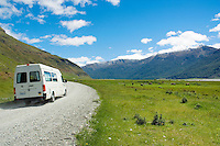Campervan, Mt. Aspiring National Park