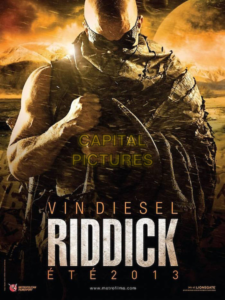 POSTER ART .in Riddick (2013) .*Filmstill - Editorial Use Only*.CAP/NFS.Supplied by Capital Pictures.
