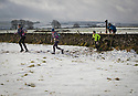 26/11/17<br /> <br /> The only concession made to the freezing conditions was an hour's delay to the start of today's Dark & White trail run that saw 150 very hardy competitors slip and slide around a ten mile cross country course over the Peak District near Monyash in Derbyshire.<br /> <br /> All Rights Reserved F Stop Press Ltd. +44 (0)1335 344240 +44 (0)7765 242650  www.fstoppress.com