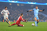 Edin Dzeko of Manchester City fails to beat Igor Akinfeev of CSKA in a one on one - Manchester City vs. CSKA Moscow - UEFA Champions League - Etihad Stadium - Manchester - 05/11/2014 Pic Philip Oldham/Sportimage