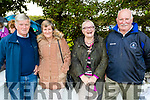 John and Catherine O'Connor, Castlegregory, Joan and Bert O'Carroll, Kilmoyley at the Ballyheigue Pattern day mass on Friday.