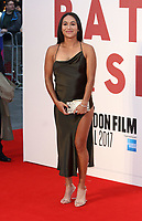 Heather Watson at the 61st BFI London Film Festival - Battle of the Sexes - American Express Gala at Odeon Leicester Square, London on October 7th 2017<br /> CAP/ROS<br /> &copy; Steve Ross/Capital Pictures