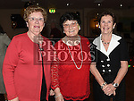 Doreen Fagan, Angela and Annette McDonnell at the Drogheda Pantomime Society reunion in the Thatch. Photo:Colin Bell/pressphotos.ie