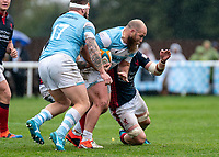 Kyle Cooper of Newcastle Falcons Kyle Cooper of Newcastle Falcons during the Greene King IPA Championship match between London Scottish Football Club and Newcastle Falcons at Richmond Athletic Ground, Richmond, United Kingdom on 12 October 2019. Photo by Liam McAvoy.