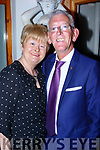 Anniversary<br /> ----------------<br /> Clr Sammy Locke was caught in Bella Bia, Tralee last Friday night with his wife Annie celebrating their 29th year married.