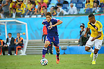 Yoshito Okubo (JPN), <br /> JUNE 24, 2014 - Football /Soccer : <br /> 2014 FIFA World Cup Brazil <br /> Group Match -Group C- <br /> between Japan 1-4 Colombia <br /> at Arena Pantanal, Cuiaba, Brazil. <br /> (Photo by YUTAKA/AFLO SPORT)