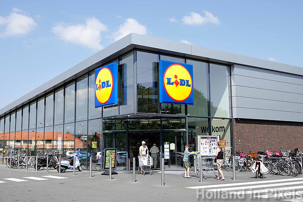 Nederland   Zaandam - 2018.    Lidl supermarkt.    Foto Berlinda van Dam / Hollandse Hoogte