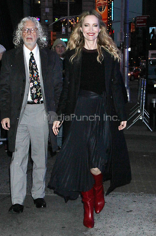 NEW YORK,NY - December 13: Leslie Mann seen arriving at Good Morning America in New York City on  December 13, 2018. Credit: RW/MediaPunch