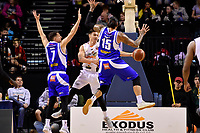 Hawks' Jarrod Kenny in action during the NBL - Cigna Saints v Hawkes Bay Hawks at TSB Arena, Wellington, New Zealand on Sunday 27 May 2018.<br /> Photo by Masanori Udagawa. <br /> www.photowellington.photoshelter.com