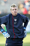 22 January 2006: Kevin Hartman, pregame. The United States Men's National Team tied Canada 0-0 at Torero Stadium in San Diego, California in an International Friendly soccer match.