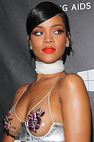 HOLLYWOOD, LOS ANGELES, CA, USA - OCTOBER 29: Rihanna arrives at the 2014 amfAR LA Inspiration Gala at Milk Studios on October 29, 2014 in Hollywood, Los Angeles, California, United States. (Photo by Celebrity Monitor)