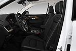 Front seat view of a 2018 GMC Terrain Denali base 5 Door SUV front seat car photos