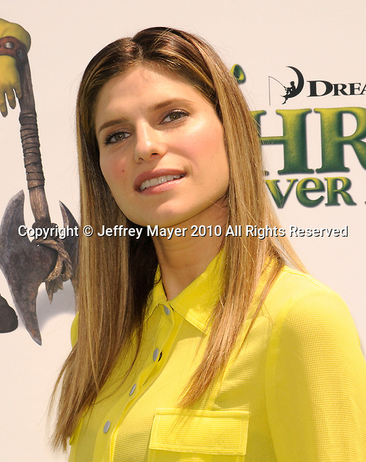 """UNIVERSAL CITY, CA. - May 16: Lake Bell arrives at the """"Shrek Forever After"""" Los Angeles Premiere at Gibson Amphitheatre on May 16, 2010 in Universal City, California."""