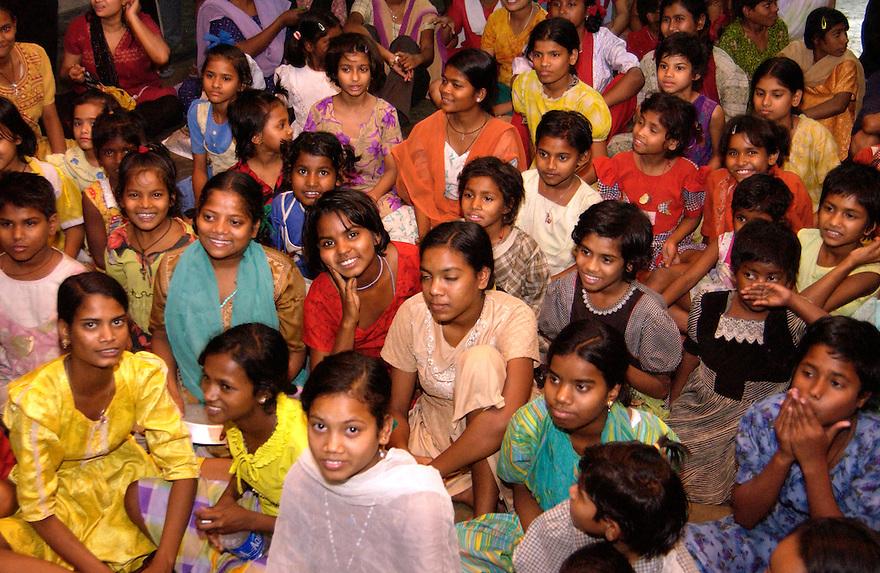 India, Calcutta, 3 maart 2005...Foto (c) Michiel Wijnbergh