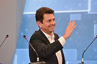 RIO DE JANEIRO, RJ, 02 AGOSTO 2012 - ELECOES 2012 - DEBATE BAND - PREFEITURA DO RIO DE JANEIRO - O candidato do PSDB a prefeitura do Rio de Janeiro Otavio Leite durante debate na TV Band na sede da Band Rio em Botafogo no Rio de Janeiro, nesta quinta-feira, 02. (FOTO: MARCELO FONSECA / BRAZIL PHOTO PRESS).