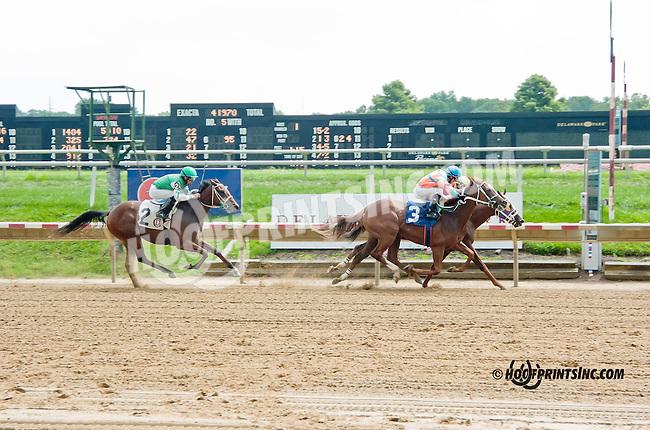 Hotspur Harriet winning at Delaware Park on 9/5/13