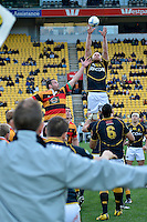 ITM Cup rugby match between Wellington Lions and Waikato at Westpac Stadium, Wellington, New Zealand on Saturday, 15 September 2012<br />