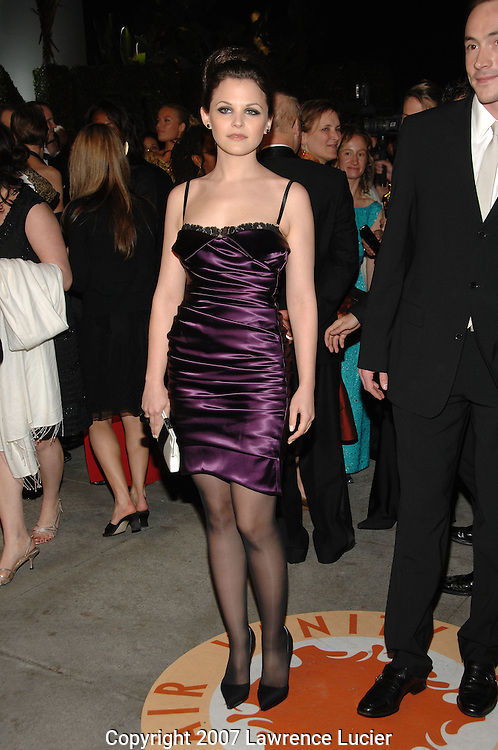 Ginnifer Goodwin attends the 2007 Vanity Fair Oscar Party held at Morton's Steakhouse in Los Angeles, CA, USA on February 25, 2007... (Pictured : GINNIFER GOODWIN).