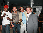 USA Olympic boxer Eric Kelly, Celebrity Chef Chris Nirschel, BJ Coleman and Tom Murrow Attend Vivica A. Fox Hosts Private Celebration for the 31st Birthday of Publicist BJ Coleman and the Launch of www.burgersandbourbon.com Sponsored by Pisco Portón,  at The Marcel Hotel's Polar Lounge, 8/25/11