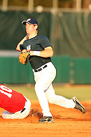 September 14, 2009:  Justin O'Conner, one of many top prospects in action, taking part in the 18U National Team Trials at NC State's Doak Field in Raleigh, NC.  Photo By David Stoner / Four Seam Images