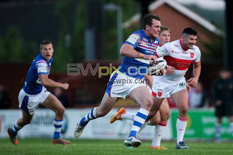 Picture by Alex Whitehead/SWpix.com - 02/06/2016 - Rugby League - First Utility Super League - Wakefield Trinity Wildcats v Hull KR - Rapid Solicitors Stadium, Wakefield, England - Wakefield's Matty Ashurst.