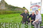 Preparing for the 14th annual Knockanure Vintage Day on Sunday next were: Paddy Kennelly, Bobby Stack and Pa Sheehy.