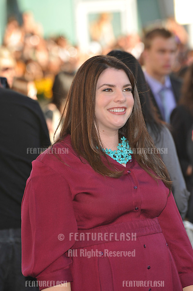 """Twilight writer Stephenie Meyer at the premiere of """"The Twilight Saga: Eclipse"""" at the Nokia Theatre at L.A. Live..June 24, 2010  Los Angeles, CA.Picture: Paul Smith / Featureflash"""