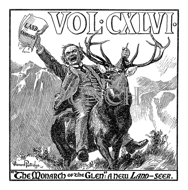 "Vol. CXLVI. ""The Monarch of the Glen"": A new Land-seer."