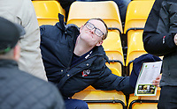 Bolton Wanderers fans enjoy the atmosphere inside Carrow Road<br /> <br /> Photographer David Shipman/CameraSport<br /> <br /> The EFL Sky Bet Championship - Norwich City v Bolton Wanderers - Saturday 8th December 2018 - Carrow Road - Norwich<br /> <br /> World Copyright &copy; 2018 CameraSport. All rights reserved. 43 Linden Ave. Countesthorpe. Leicester. England. LE8 5PG - Tel: +44 (0) 116 277 4147 - admin@camerasport.com - www.camerasport.com