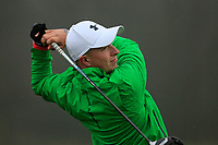 Alex Maguire (Laytown &amp; Bettystown) during the first round of the Peter McEvoy Trophy played at Copt Heath Golf Club, Solihull, England. 11/04/2018.<br /> Picture: Golffile | Phil Inglis<br /> <br /> <br /> All photo usage must carry mandatory copyright credit (&copy; Golffile | Phil Inglis)