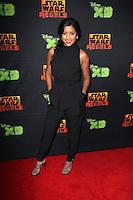 "Tiya Sircar<br /> at the Global Premiere of ""Star Wars Rebels"" Season 2 at Star Wars Celebration, Anaheim Convention Center, Anaheim, CA 04-18-15<br /> David Edwards/Dailyceleb.com 818-249-4998"