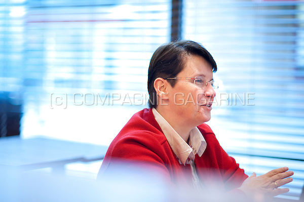Christine Thiran, human resources manager at the RTBF (Belgium, 16/10/2015)