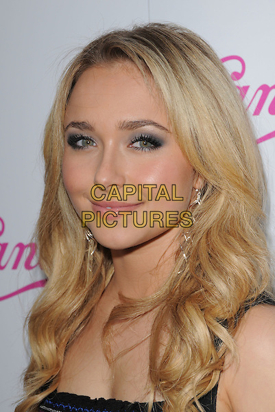 HAYDEN PANETTIERE .The Candie's New 2008 Spring Collection Campaign Celebration featuring Hayden Panettiere held at Hyde Lounge in West Hollywood, California, USA..February 21st, 2008.headshot portrait .CAP/DVS.©Debbie VanStory/Capital Pictures.