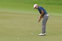 Lloyd Jefferson GO (PHI) watches his putt on 18 during Rd 4 of the Asia-Pacific Amateur Championship, Sentosa Golf Club, Singapore. 10/7/2018.<br /> Picture: Golffile | Ken Murray<br /> <br /> <br /> All photo usage must carry mandatory copyright credit (&copy; Golffile | Ken Murray)