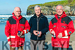 Long Service Awards: Three members of the Ballybunion Sea & Cliff Rescue Service will be honoured by the Irish Water Safety  for 30 years service to the community rescue service in a ceremony at Dublin Castle on the 8th November. L-R : TJ McCarron, Frank O'Connor & Mike Flahive. Also honoured will be Kevin Mcmahon & Geraoid O'Connor - 20 years service, Chris O'Sullivan - 15 years & Emmet Lynch - 18 years service.