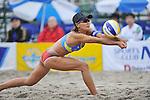 Shinako Tanaka (JPN),.MAY 4, 2012 - Beach Volleyball : JBV Tour 2012 Sports Club NAS Open at Odaiba Beach, Tokyo, Japan. (Photo by Jun Tsukida/AFLO SPORT) [0003].