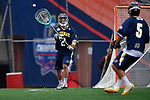FOXBORO, MA - MAY 28: Edward Hellier (2) of the Merrimack Warriors with the ball during the Division II Men's Lacrosse Championship held at Gillette Stadium on May 28, 2017 in Foxboro, Massachusetts. (Photo by Larry French/NCAA Photos via Getty Images)