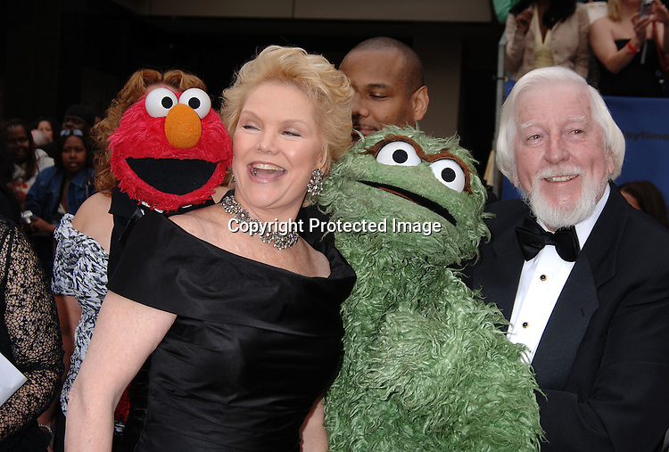 Sesame Street group and Erika Slezak  ..arriving at The 33rd Annual Daytime Emmy Awards..on April 28, 2006 at The Kodak Theatre in Hollywood California...Robin Platzer, Twin Images