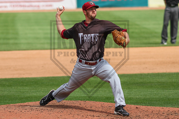 BELOIT - September 2014: Harvey Martin (32) of the Wisconsin Timber Rattlers during a game against the Beloit Snappers on September 1st, 2014 at Pohlman Field in Beloit, Wisconsin.  (Photo Credit: Brad Krause)
